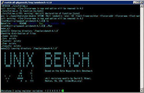 unix bench